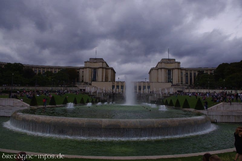 Trocadero in Paris